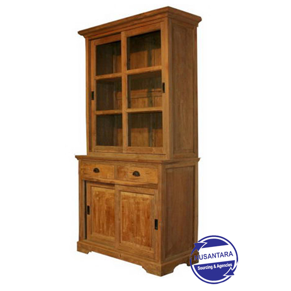 RECYCLED TEAK CABINET 120CM