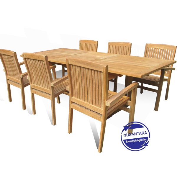 Rectangular Extended Table 180-240cm