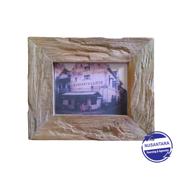 EROSIE RECYCLED TEAK PHOTO FRAME