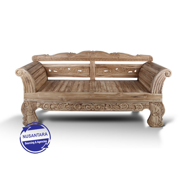 MADURA BENCH CARVING 200CM