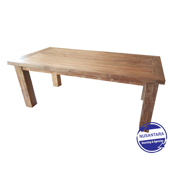 RECLAIMED TEAK DINING TABLE 200CM