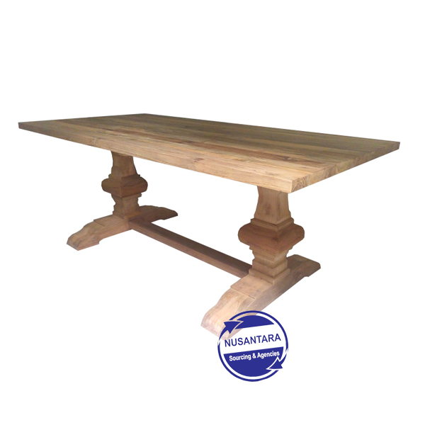 RECLAIMED TEAK TABLE 180CM
