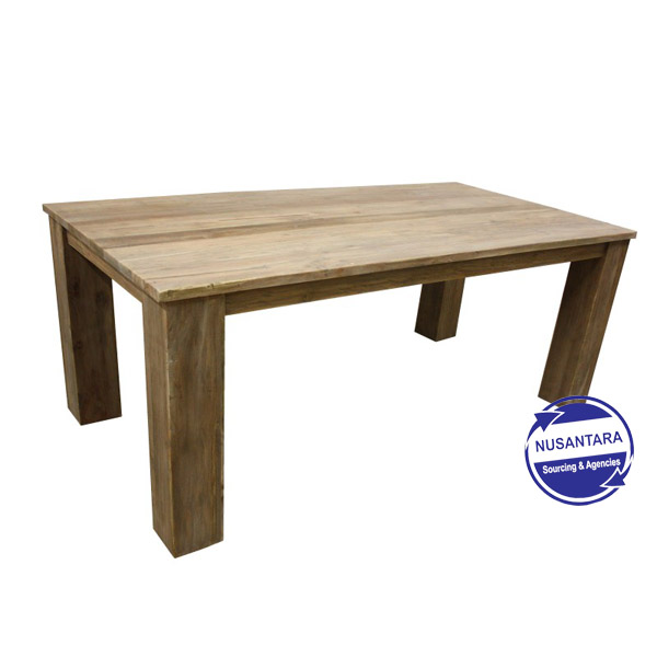 RECYCLED TEAK TABLE BIG FOOT