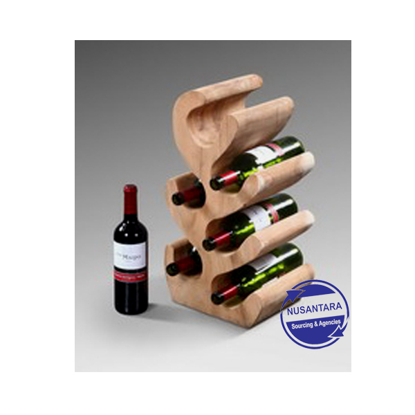 Suar wood wine holder 50cm, 70cm, 90cm